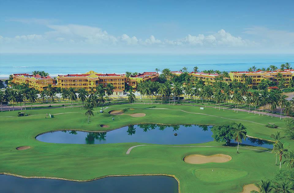golf course & condos